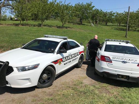 Deputies on Joy Road in Sodus