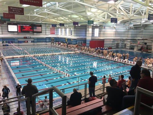 St Xavier Sobolewski Dominate District Swim Meet