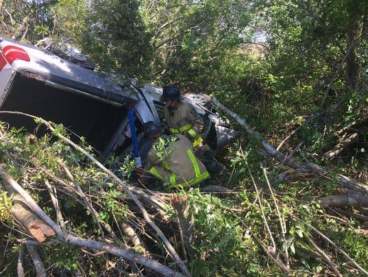 Crash Causes Injuries In West Brevard