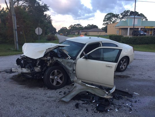 One injured in early morning palm bay crash for Department of motor vehicles palm bay florida