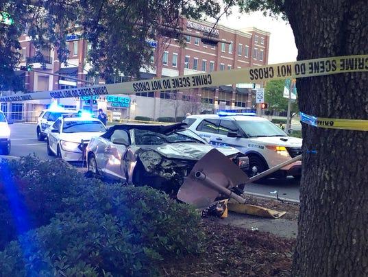 Man Hurt after Train / Car Crash on Middle Tn. Blvd