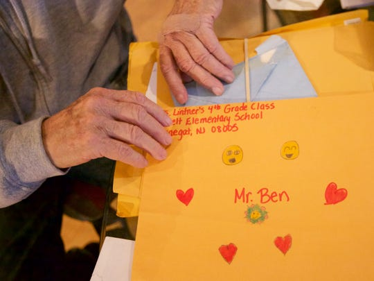 Benjamin Morrow received letters of support from a congressman and a class of fourth graders.