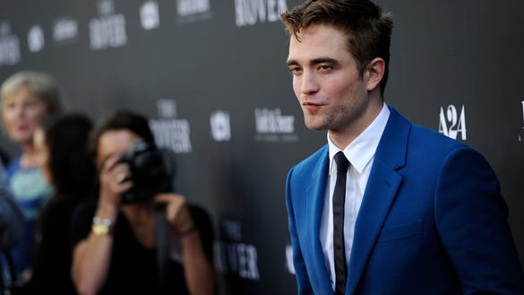 """AP US PREMIERE OF """"THE ROVER"""" - ARRIVALS A ENT USA CA"""