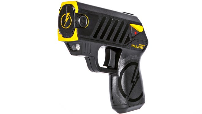 The new Pulse self-defense weapon was introduced Tuesday at a trade show by Scottsdale-based Taser International.