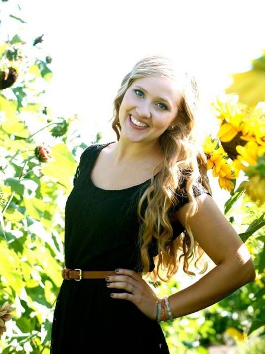 Marissa deVries, Salem Academy Christian School Academic All-Star 2013.