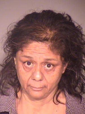 Rebecca Castaneda, 57, of Santa Paula, was arrested Tuesday on suspicion of the burglary of a Camarillo storage unit.