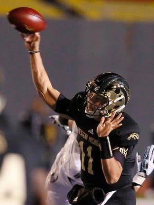Western Michigan quarterback Zach Terrell has thrown for 27 touchdowns this season.