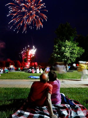 Springettsbury Township's Independence Day celebration at Springettsbury Township Park, Sunday, July 3, 2016. Dawn J. Sagert photo