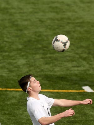 Central Kitsap senior Alex Bradbury scored 23 goals for the Cougars. He is the Kitsap Sun boys soccer player of the year for 2017.