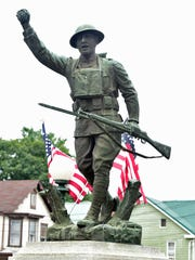 A doughboy statue. You probably have one in your town.