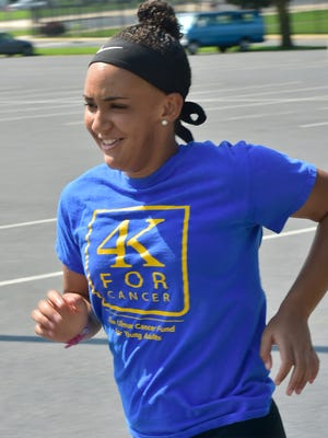 Monica Henderson, who just completed her first year as a University of Pittsburgh student, will be participating in a run across the country to raise money for cancer. Henderson survived childhood cancer.