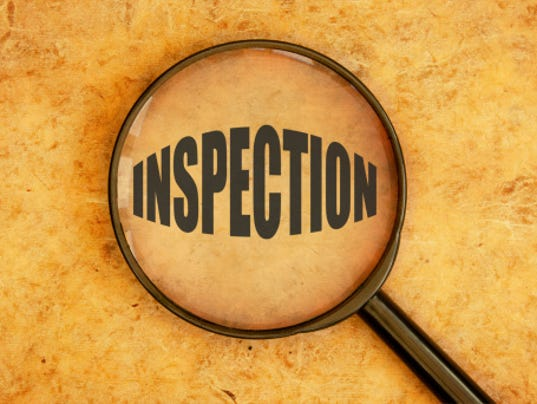 Health Department inspections