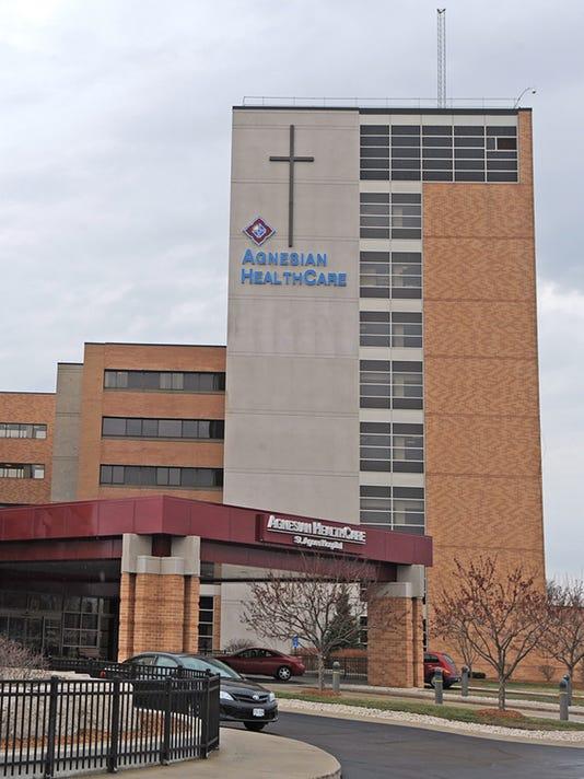 FON 042114 Agnesian HealthCare building2.JPG