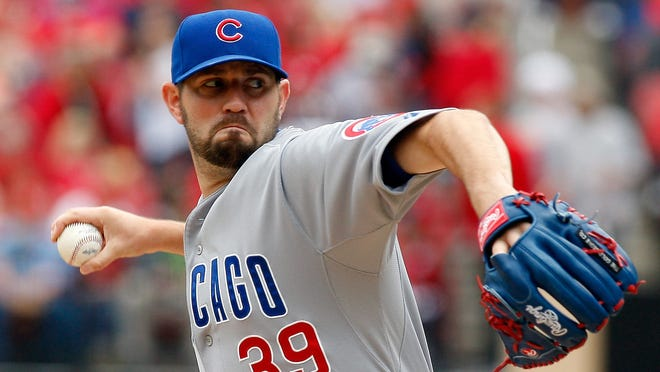 Cubs starting pitcher Jason Hammel has produced an ERA uncer 4.00 in just one of his eight major league seasons, but he's 4-2 with a 3.06 ERA In his first eight starts this season.