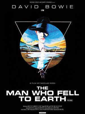 David Bowie stars in 'The Man Who Fell to Earth.'