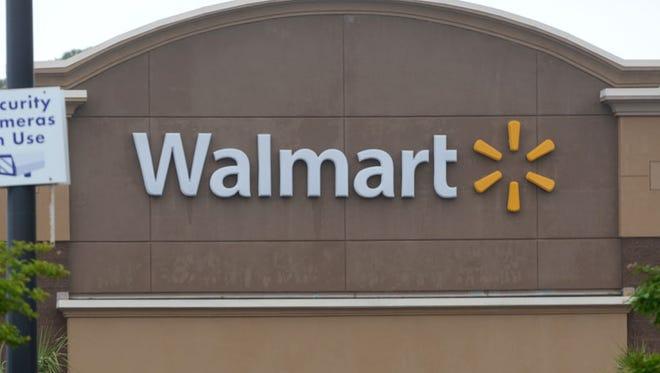 Wal-Mart sign