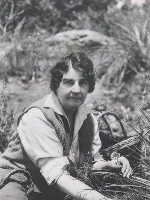 Writer and naturalist Gene Stratton-Porter