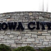 Iowa City sign