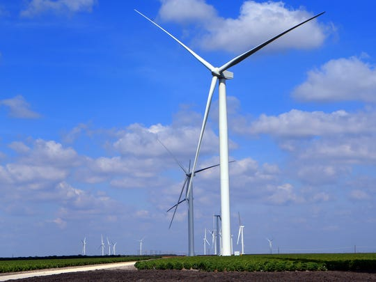 A wind farm located off Farm-to-Market Road 70 near Chapman Ranch is set to go online by the end of the month.