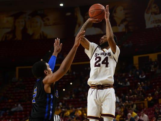 NCAA Basketball: UC Santa Barbara at Arizona State