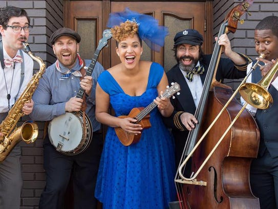 Jazzy Ash & the Leaping Lizards will perform a sensory-friendly