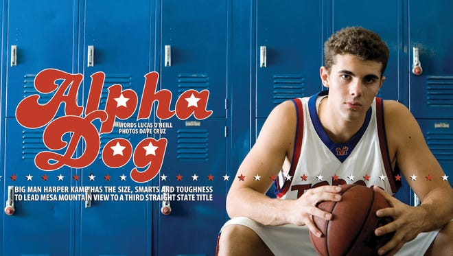 Is Harper Kamp the greatest player in Mesa Mountain View boys basketball history?