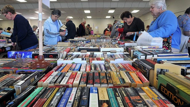 Book lovers are marking their calendars for March 2-4, when the Wichita Adult Literacy Council's annual used book sale will take over MSU's Sikes Lake Center.
