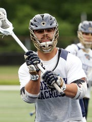 Roxbury senior attack Dave Biank scored the winning goal with four seconds left in the NJSIAA North Group III semifinal.