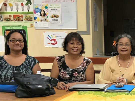The Pacific Islands Bilingual Bicultural Association International elected its new officers during its 37th annual International PIBBA conference in Saipan, CNMI on June 29, 2018. Pictured from left: Jenny Megofna, secretary; Jovita Taimanao, historian; Rosa Salas Palomo, treasurer; Dr. Matilda Naputi Rivera, webmaster; Frances Sablan, immediate past president; and Janet Ebil Orrukem, president.