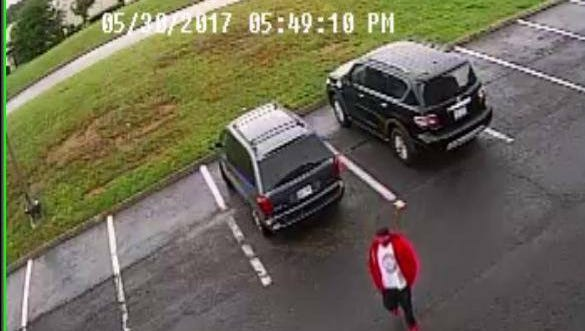 Pictured is one of two men authorities are searching for in connection to a fatal shooting that occurred at an East Knox County hotel parking lot on Tuesday.