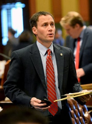 State Rep. Tom Leonard, R-DeWitt Township, was elected the new Speaker of the House of Representatives on Thursday,  Nov. 10, 2016.