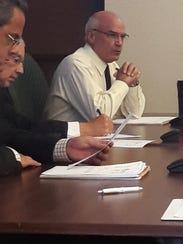 Lee County Manager Roger Desjarlais explains the role