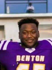 Benton's TJ Anderson