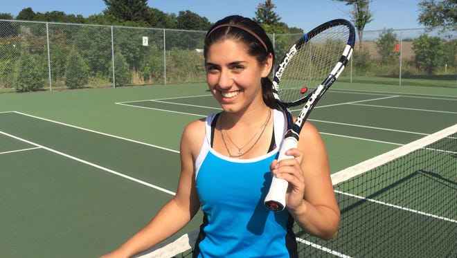 Ashwaubenon senior tennis player Meghan Tilot is featured in this week's senior spotlight.