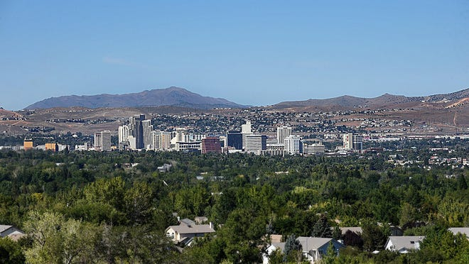 Reno is has pleny of trees to shade it's residents, however lots of trees in Reno have are dying off.