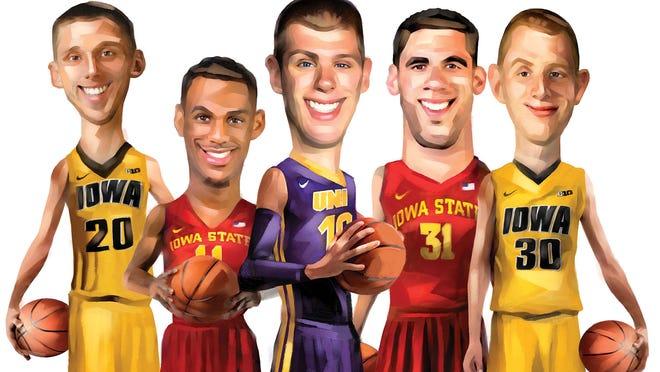State of Iowa dream team