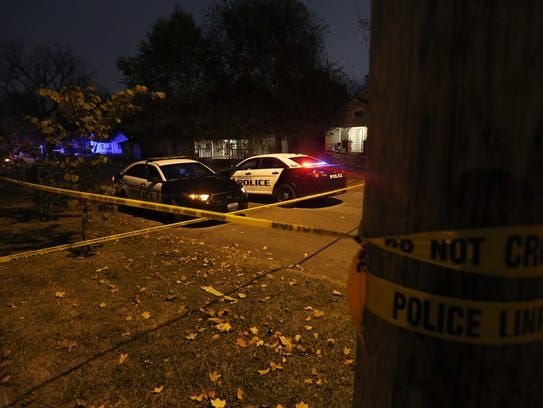 Springfield Police investigate a homicide in the 2100