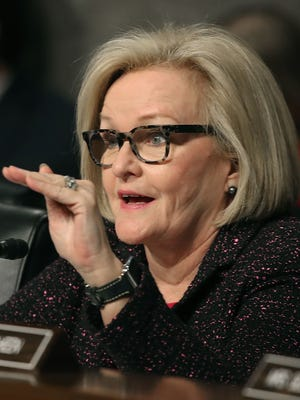 Sen. Claire McCaskill, D-Mo., is being criticized for her critique of Attorney General Jeff Sessions.