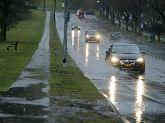 Prolonged rainfall could lead to road ponding and flooding.