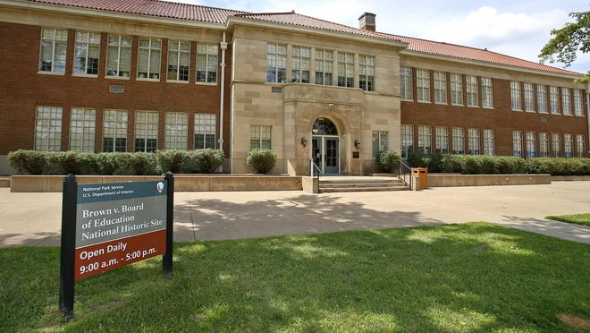 The Brown v. Board of Education National Historic Site reopened to the public Saturday.