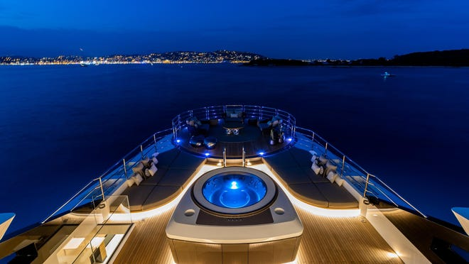 SOLO, one of the vessels that will be shown in the virtual boat show, won the Best Ecological Design and Operation Innovation Award categories at the 2019 Boat International Design & Innovation Awards and was named Most Efficient Yacht in the 2018 World Yachts Trophies.
