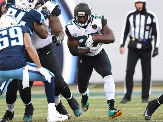 Dec 31, 2017; Nashville, TN, USA; Jacksonville Jaguars
