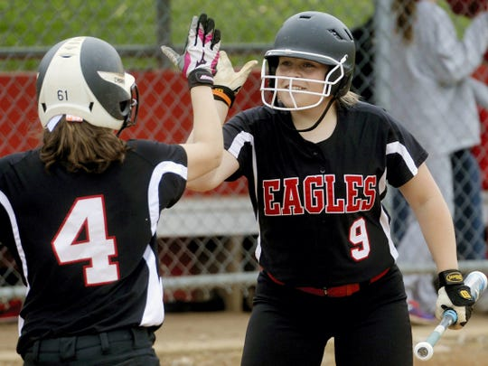 Dover's Natalie Cutright helped lead the Eagles to a Division II title last season by hitting .559 with three home runs.