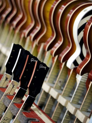 Gibson custom guitar plant on Elm Hill Pike in 2006.