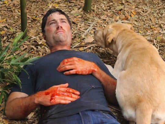 """Matthew Fox in the series finale of """"Lost."""""""