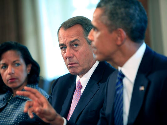 Obama and Boehner: A topsy-turvy relationship