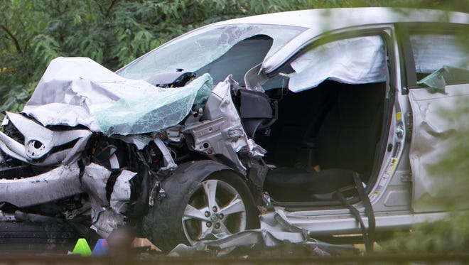 """A report gives Arizona and eight other states a """"red"""" rating for having fewer than seven of 15 laws that the association considers critical to promote highway safety."""