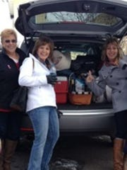 Kim Kohlbeck of Wausau took her last annual shopping trip to Appleton with Corky Dvorak, Jen Dvorak and Cathy Johnson.