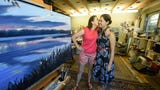 Artists Carol Oldenburg and her daughter Kara Oldenburg-Gonzales are taking art studio space in York's Royal Square district. They will be joined by artist Cheryl Migliarini.