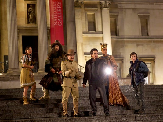 Film Review Night at the Museum Secret of the Tomb